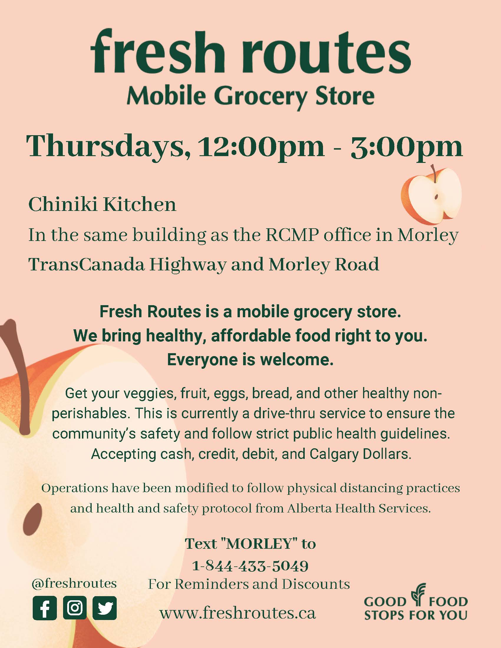 Fresh Routes Mobile Grocery Store
