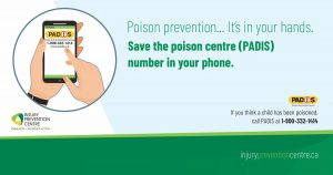 Poison Prevention... It's in your hands.