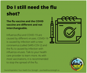 Do I still need the flu shot?