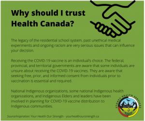 Why should I trust Health Canada?