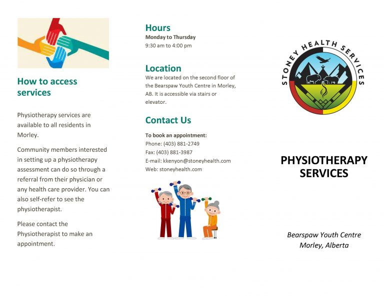 Stoney Health Services Physio Brochure