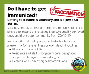 Do I have to get immunized?